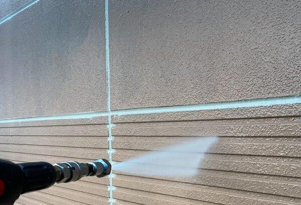 群馬県前橋市 K様邸 外壁塗装・防水工事 下地処理 バイオ洗浄 (3)